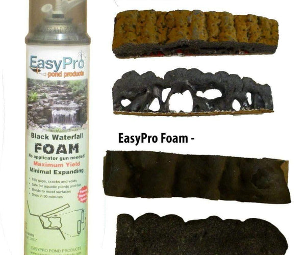 Black Waterfall Foam – Ready to use – 20 oz - Smith Creek Fish Farm