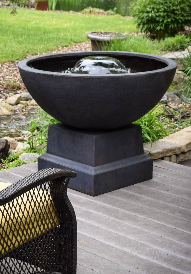 Tranquil Décor Itasca Bowl Fountain | Smith Creek Lake and Pond