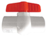 "PVC Ball Valve - 1 1/2"" - Smith Creek Fish Farm"