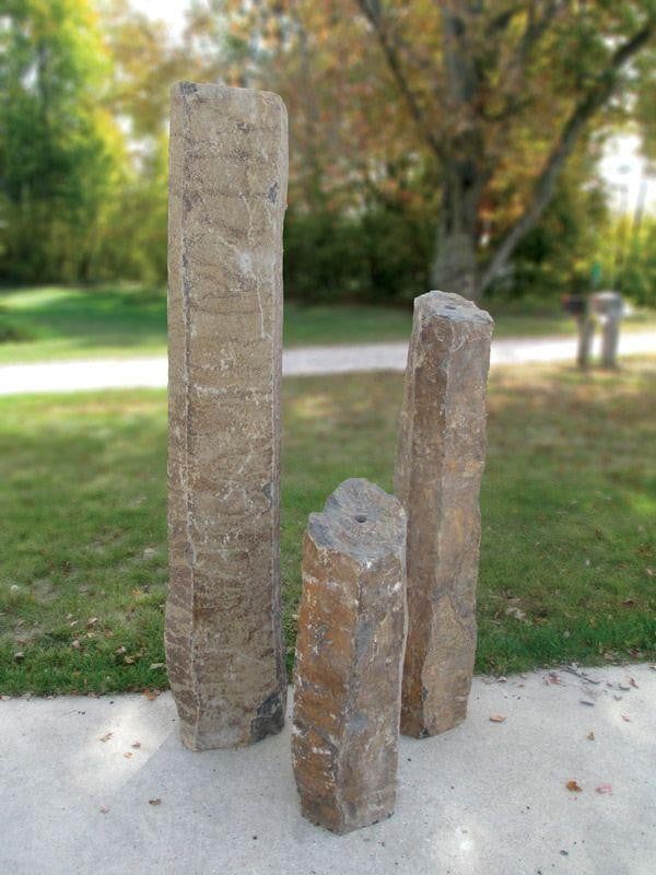 Large Real Basalt Column Kit - 3 Piece Tranquil Decor - Smith Creek Lake and Pond