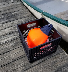 basket and poly ball set up for Pelagic fishing