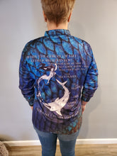 Load image into Gallery viewer, Mermaid Aqua Pattern T-Shirt