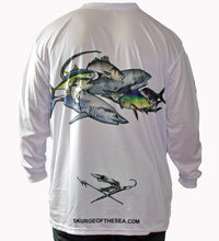 "Load image into Gallery viewer, Pirate ""N.E. Species"" Performance Crew Neck Shirt"