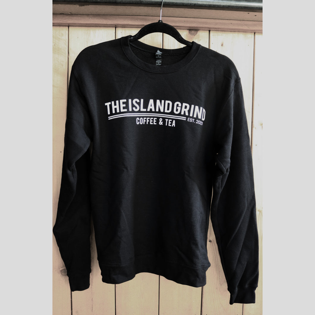 Crewneck Sweatshirt: Black