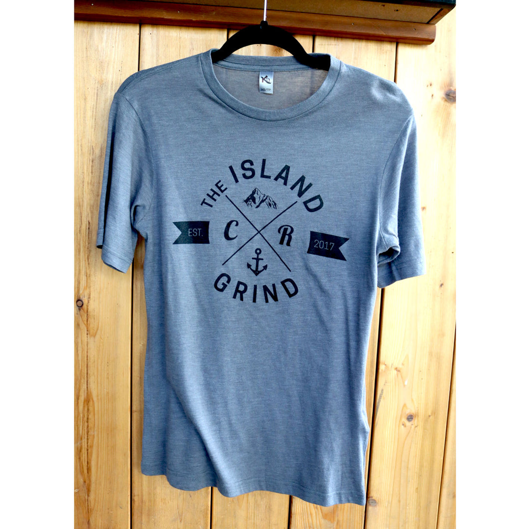 Short Sleeve T-shirt: Grey