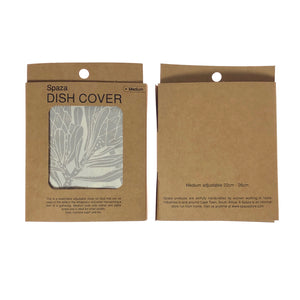 Dish and Bowl Cover Medium - Protea Print