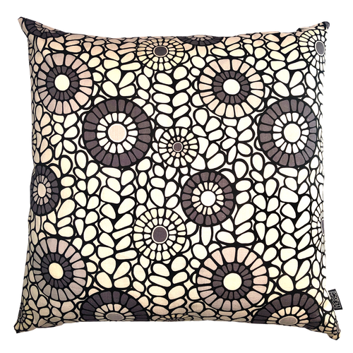 DESIGN TEAM | Cushion Cover - Okra Grey (60cmx60cm)