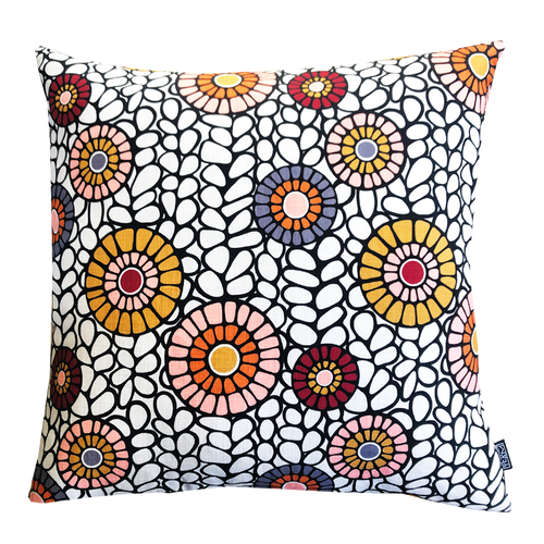 DESIGN TEAM | Cushion Cover - Okra Pickled Ginger (60cmx60cm)