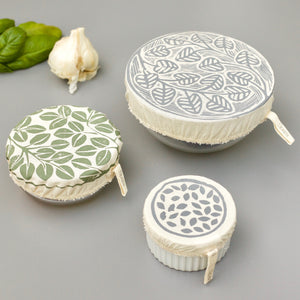 Set of 3 Mini Dish Covers