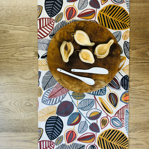 Table Runner - Stillo Kidney Bean