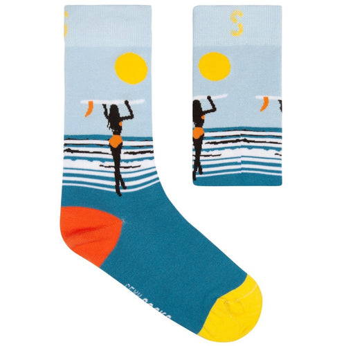 Bamboo Sock - Surf's Up