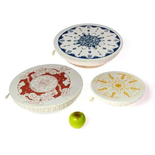 HALO || Dishcover Large Set - Utensils - by Gabriele Jacobs
