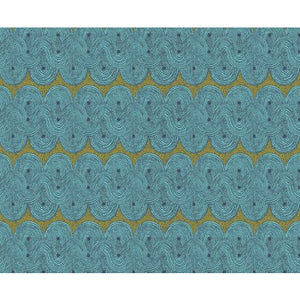Apron - Crop Field Aqua