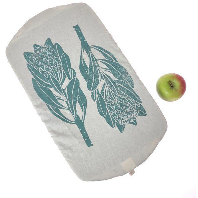Dish and Casserole Cover Rectangle Protea Print
