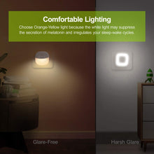 Load image into Gallery viewer, AUVON Plug-in LED Motion Sensor Night Light (2 Pack) - AUVON