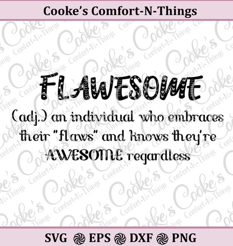 Flawsome SVG, awesome SVG