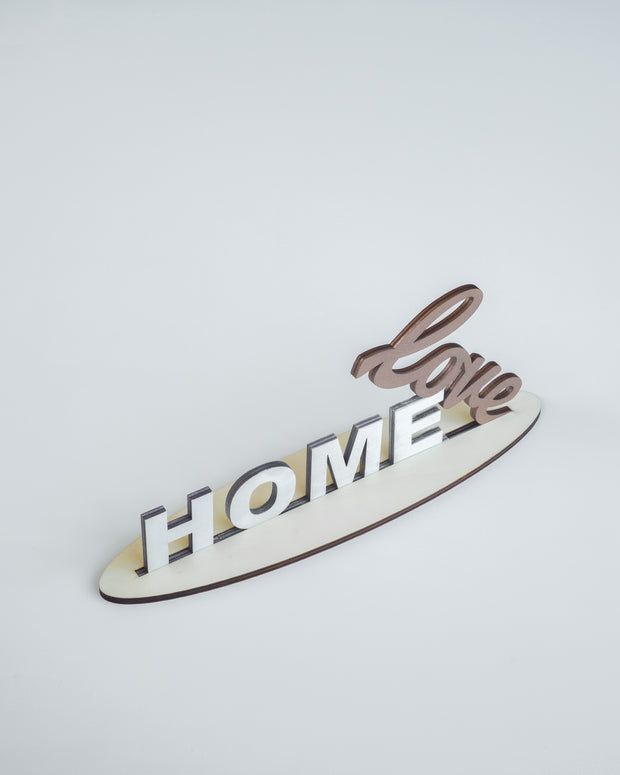 Home is where the Heart is - Rose Gold
