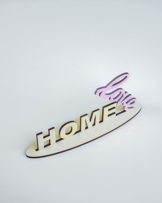 Home is where the Heart is - Pink