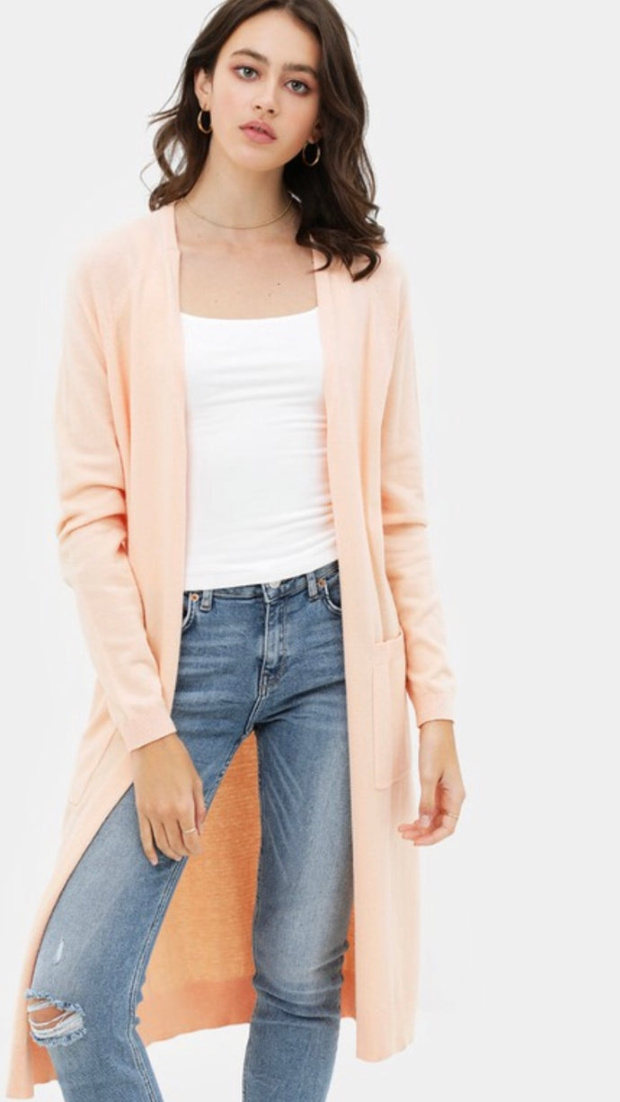 Georgia Peach Cardigan