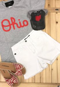 KanCan White Shorts