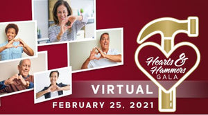 Virtual Hearts & Hammers Gala 2021