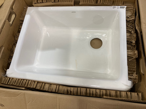 "Kohler Whitehaven 29-11/16"" Undermount Single Basin Cast Iron Kitchen Sink"