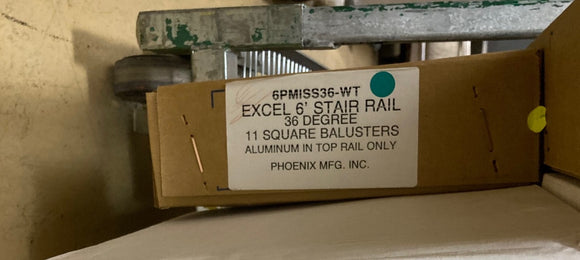 Phoenix Mfg. INC. - 6PMISS36-WT - Baluster Box