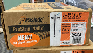 "Paslode ProStrip Nails 2-3/8"" x .113 - 097398"