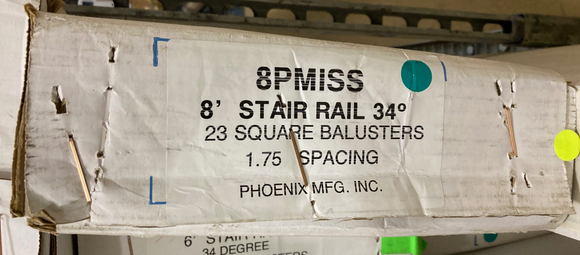 Phoenix Mfg. INC. - 8PMISS - Baluster Box