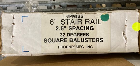 Phoenix Mfg INC. 6PMISS - Balusters Box