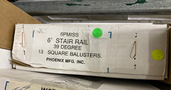 Phoenix Mfg. INC. 6PMISS Balusters