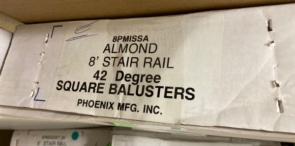Phoenix Mfg. INC. - 8PMISSA Almond - Baluster Box