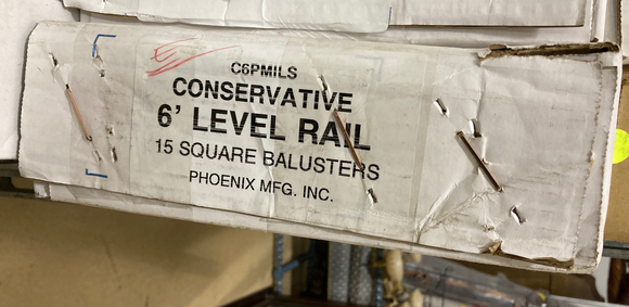Phoenix Mfg. INC. - C6PMILS - Balusters Box