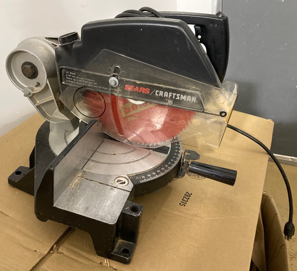 Sears/Craftsman Power Miter Saw 120 Volts (red/black)