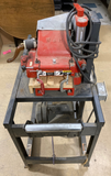 W&H Molder machine P202 on Metal Rolling Cart with Baldor Industrial Motor