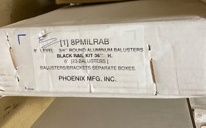 Phoenix Mfg. INC - 8PMILRAB - Baluster Box