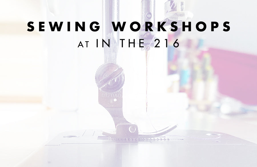 June Sewing Classes at In the 216