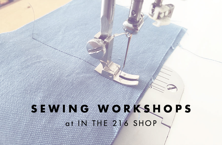 Two Sewing Workshops Coming Up