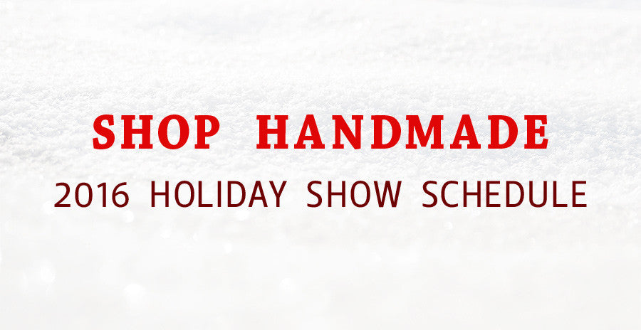 Shop Handmade for the Holidays