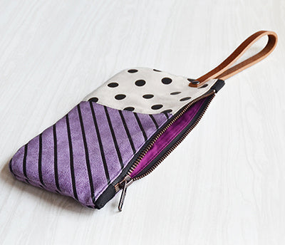 Double Print Wristlet | Screen Printed | Liz Sabo | Cleveland | Cyber Monday Deals