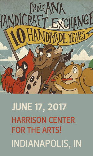 INDIEana Handicraft Exchange | Homespun Indy | Indianapolis | June 17, 2017