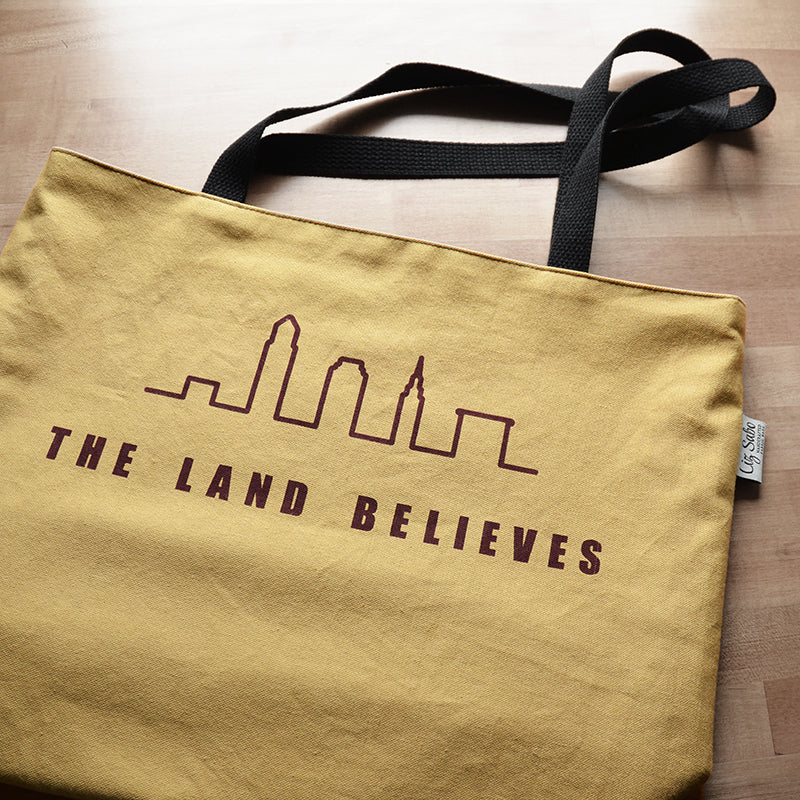 The Land Believes | Cleveland Champions | Limited Edition Tote | by Liz Sabo