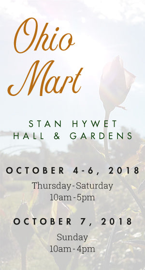 Ohio Mart at Stan Hywet Hall & Gardens | October 4-7, 2018 | Akron, Ohio