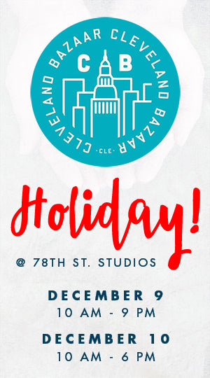 Cleveland Bazaar Holiday | 78th Street Studios | Liz Sabo Handmade | Fabric Goods Made in Cleveland, Ohio