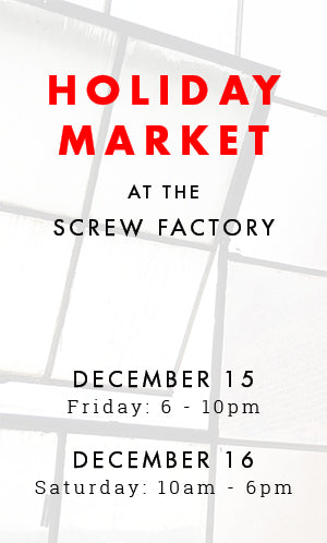 Holiday Market at the Screw Factory | Lakewood, Ohio | December 15-16, 2017 | Liz Sabo Handmade