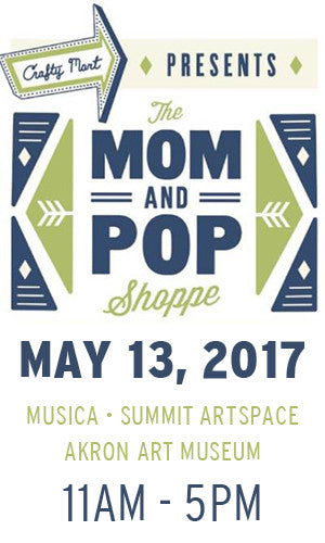 Crafty Mart Mom and Pop Shoppe | Akron, Ohio | Spring Show May 13, 2017 | Liz Sabo Handcrafted Fabric Bags