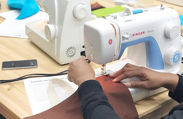 Beginners Sewing with Liz Sabo | Studio How-To | Coventry, Cleveland Heights, Ohio | July 29, 2017