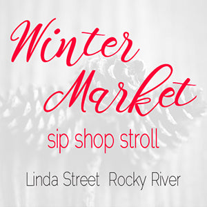 Winter Market Sip Shop Stroll | Rocky River, Ohio | Holiday Craft Fair | November 17, 2016