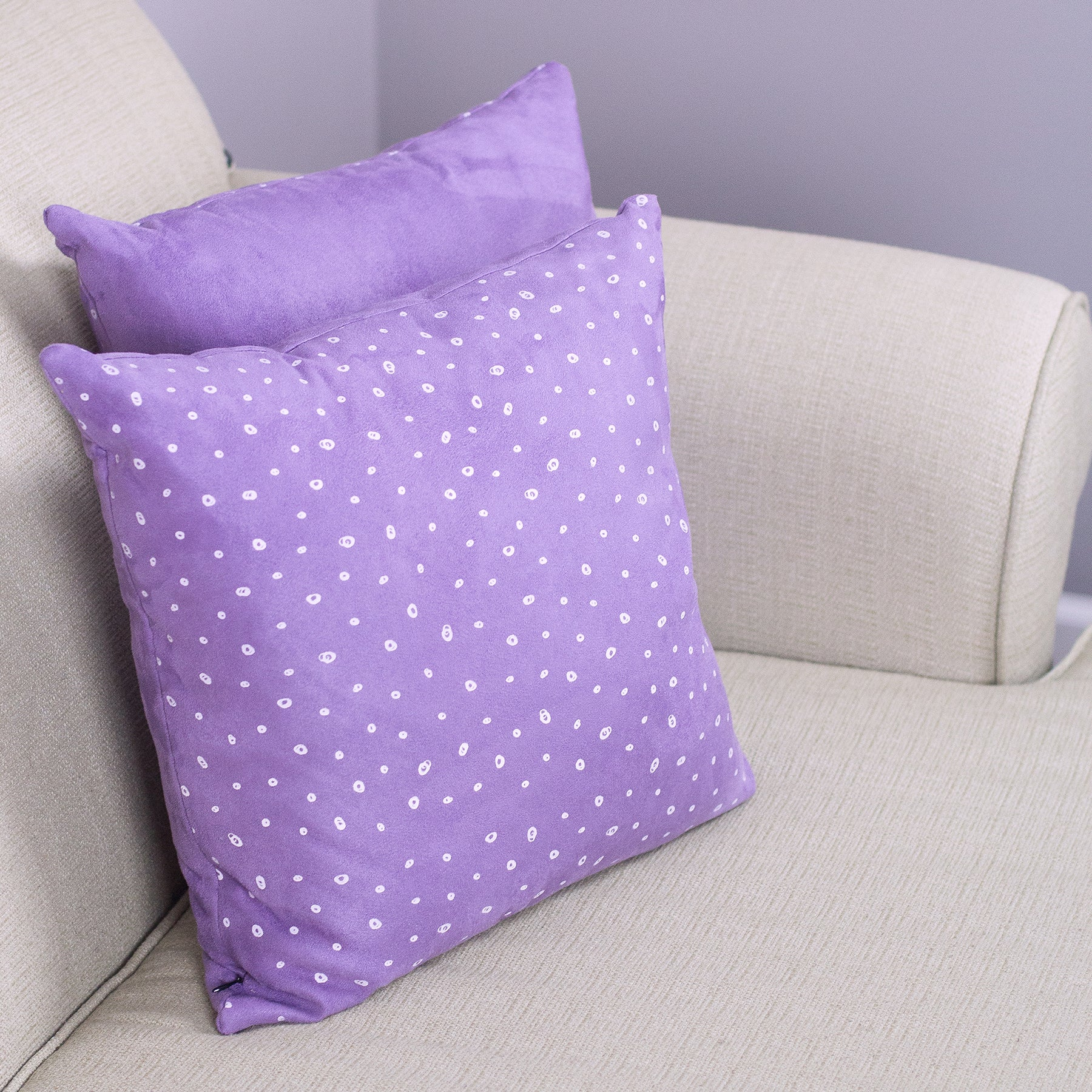 gold pillow pillows of purple and product set accent chairish