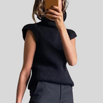 New 2020 Design Sleeveless Turtleneck